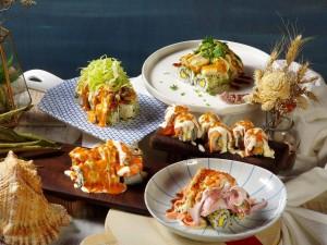 天成飯店集團2019ITF 華山町餐酒館 火山卷料理 1