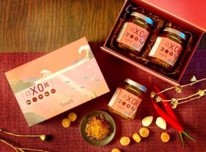 天成飯店集團2020年節禮盒-手作黃金X.O.醬禮盒