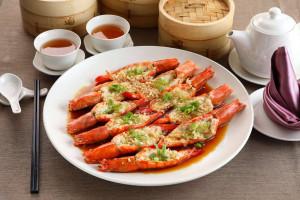 天成飯店集團 蒜蒸鮮大蝦